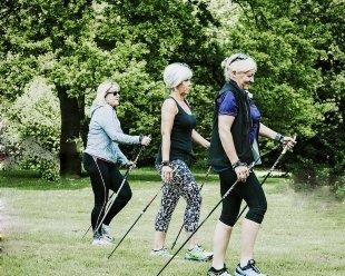 Nordic Walking is fantastic low impact exercise and available near Marlborough in Wiltshire